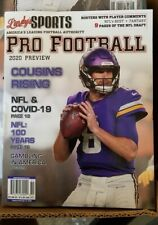 Lindy's Sports Pro Football 2020 preview Minnesota Vikings cover  new