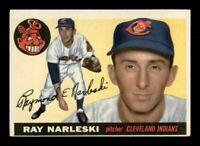 1955 Topps Set Break # 160 Ray Narleski EX-MINT *OBGcards*