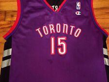 Vintage Vince Carter Jersey Toronto Raptors NBA Basketball Jordan Champion