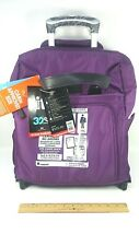 IT Luggage Rio Carry On Cabin-Size Luggage. Wheeled. Purple. Ultra Light. New.