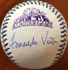Fernando Vina Autographed 1998 All-Star Game Baseball