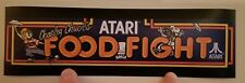 Food Fight marquee sticker. 3 x10.5 (Buy 3 stickers, Get One Free!)