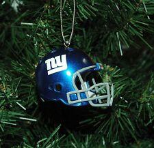 New York Giants Football Helmet Christmas Ornament
