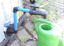 AAT290T4 Auslauf IBC-Container-Zubehör-Regenwasser-Adapter-Fitting-Garten-Fass