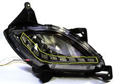 (Fits: Hyundai 2012+ Genesis) exLED 2way LED WF-BLK DRL/Fog Light eyeline module