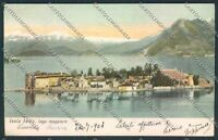 Verbania Isola Bella cartolina C9605 SZA