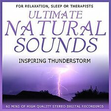 ULTIMATE NATURAL SOUNDS - INSPIRING THUNDERSTORM - NEW AGE CD