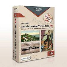 Stecotec Ansichtskarten-Verwaltung Pro: Programm f. Ihre Postkartensammlung