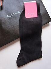 Paul Smith Socks Formal Black Made In Italy 100% Cotton GENUINE!