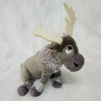 "6"" TY Sparkle Disney Frozen SVEN REINDEER Plush Stuffed Beanbag Toy B350"