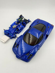 Kyosho Mini-Z MR-03 VE Chassis Limited Blue Color.