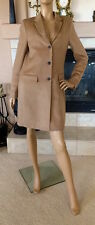 UNIQLO WOMEN BEIGE WOOL CASHMERE CHESTER COAT NWT SIZE M 149.90$