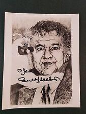 Buddy Hackett Autographed 8x10 photo
