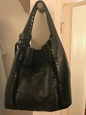 jimmy choo black leather bag with authenticity card