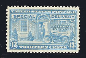 U.S. STAMP #E17 — 13c SPECIAL DELIVERY — VF — MINT GRADED 80