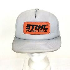 outlet store e4357 ac98e STIHL Power Tools Patch Full Foam Snapback Trucker Hat Cap K Products  Vintage