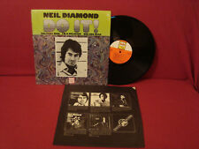 NEIL DIAMOND DO IT1ST PRESSING 1A / 1A BANG LABEL IN SHRINK VG++ ORIGINAL SLEEVE