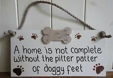 SHABBY CHIC PLAQUE ALL BREEDS OF  DOG  LOVERS PERSONALIZED  CHRISTMAS GIFT