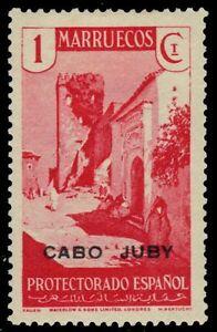 "CABO JUBY 53 - Tangier Street Scene ""Overprinted"" (pa74860)"