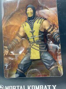 Scorpion Mortal Kombat Statue Extra Large size 12 inch Action Figure