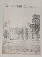 Vintage (1964) Vanderbilt Mansion Informational Booklet, Hyde Park, New York