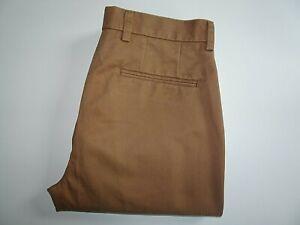 "CHARLES TYRWHITT Mens Brown Chinos Trousers Slim SIZE W32 L30 Waist 32"" Leg 30"""