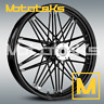 BLACK HARLEY FAT SPOKE WHEEL 21X3.5 NOVA FITS TOURING BAGGER MODELS 2000-PRESENT