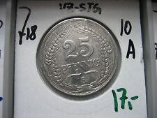 J 18 25 penique 1910 a en vz-STG