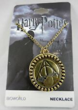 New Harry Potter Deathly Hallows Themed Shaker Pendant Necklace Symbols Logos