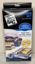 ORIGINAL SPACE BAG STORAGE PACKS - 3 BAG COMBO SET VACCUM SEAL