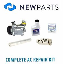 Complete AC A/C Repair Kit with NEW Compressor & Clutch Fits Subaru Forester 07