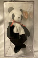 Ty Beanie Baby FORTUNE (Panda Bear) 1997 Tush Tag 1998 Rare; Errors; Excellent