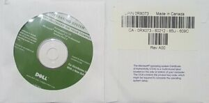 Dell Reinstall CD Microsoft Windows XP Professional Service Pack 2 BRAND NEW