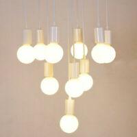 Vintage Light Socket Hanging Pendant Ceiling Lamp Holder Bulb Base Adapter