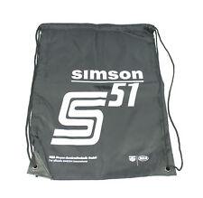 SIMSON Bolso Bag Bolso de hombro negro deporte motivo S51 (S50 S83 S70 S53)