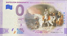 BILLET 0  EURO NAPOLEON BONAPARTE PAYS BAS COULEUR  2021  NUMERO DIVERS