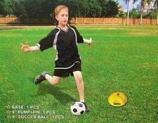 Junior Soccer Trainer Kids Football Reflex Training Set with Ball & Base & Pump