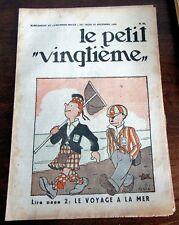 TINTIN HERGE PETIT VINGTIEME 1931 NO 51 TBE