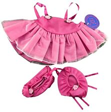 "Pink Ballerina Outfit Fits Build A Bear Workshop 12"" - 16"" Teddy Bears Clothes"