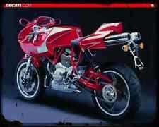 Ducati Mh900E 4 A4 Photo Print Motorbike Vintage Aged