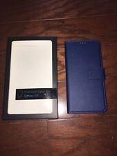 Generic Galaxy S9 Wallet Case- Navy