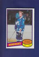 Robbie Ftorek 1980-81 O-PEE-CHEE OPC Hockey #35 (NM) Quebec Nordiques