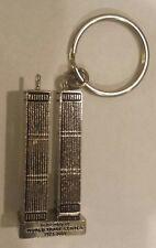 World Trade Center Twin Towers NEW YORK CITY*KEYCHAIN* 9/11 rare..key chain