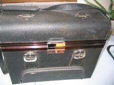 Camera Shoulder Bag Rigid Black Vintage 1970s
