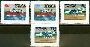 Tonga 1982 Inter-Island Transport Specimen set of 4 SG813s-816s Fine MNH