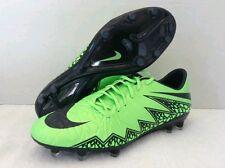 Nike Hypervenom Phatal II FG Men's Soccer Cleats Green Black 749893-307 SZ-8.5