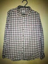 UNIQLO PLAID FLANNEL LONGSLEEVE SHIRT TAG SIZE L