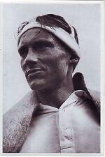 Sweden Germany 1936 Olympic Winner 50 km Ski Cross Country Elis Viklund postcard