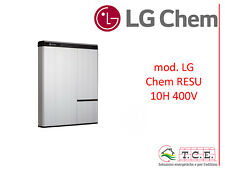 Batteria litio LG CHEM Resu 10H - 10 kWh 400 V accumulation storage fotovoltaico