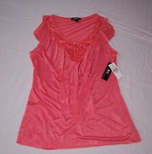 NEW WITH TAGS WOMEN'S BCX SLEEVELESS SHIRT SIZE LARGE